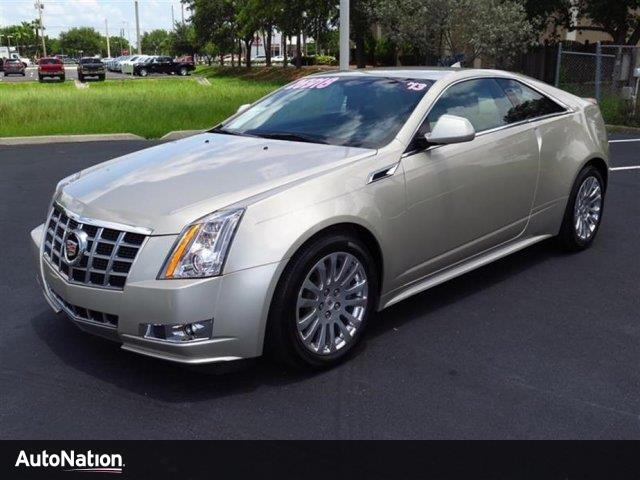 2013 Cadillac Cts Coupe Performance Fort Myers Fl 14365567
