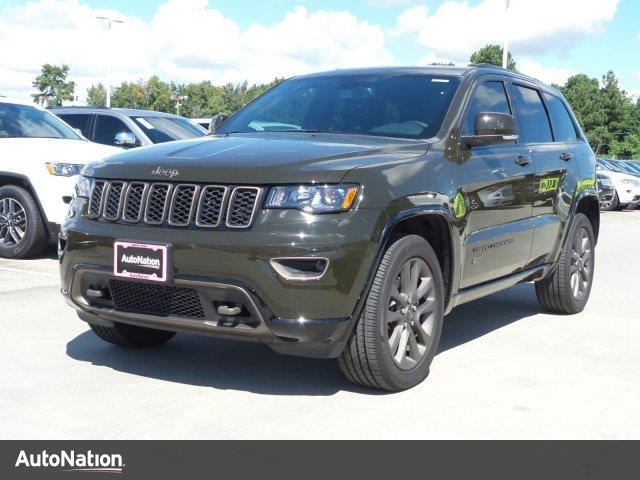 2016 jeep grand cherokee limited 75th anniversary spring tx 14873071. Black Bedroom Furniture Sets. Home Design Ideas