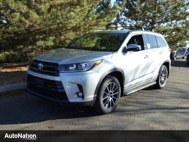2017 toyota highlander se centennial co 16091150. Black Bedroom Furniture Sets. Home Design Ideas