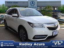 2014 Acura MDX with Technology Package Falls Church VA