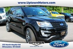 2017 Ford Explorer Sport 4WD Milwaukee and Slinger WI