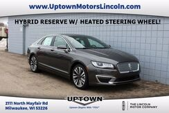 2017 Lincoln MKZ Hybrid Reserve Milwaukee and Slinger WI