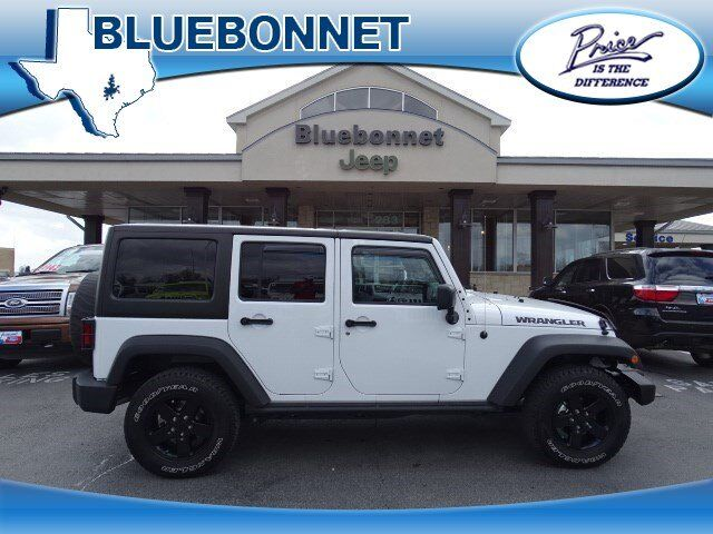 2016 Jeep Wrangler Unlimited Willys Wheeler New Braunfels