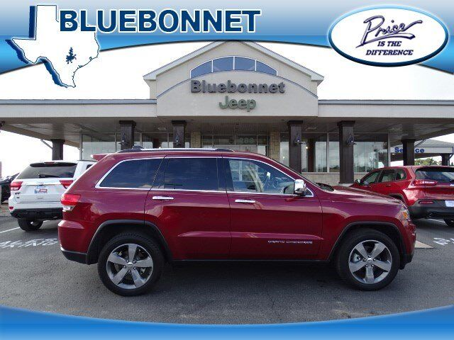 2015 Jeep Grand Cherokee Limited New Braunfels Tx 14201113