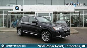 2016_BMW_X3_xDrive35i! VERY LOW KM!! TURBOCHARGED!!_ Edmonton AB