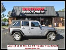 Jeep Wrangler Unlimited Freedom 4x4 4dr SUV 2016
