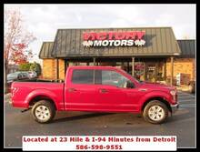 2016 Ford F-150 XLT 4x2 4dr SuperCrew 6.5 ft. SB Chesterfield MI
