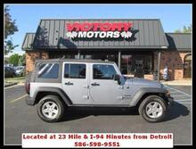2016 Jeep Wrangler Unlimited Freedom 4x4 4dr SUV Chesterfield MI