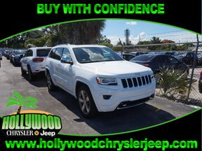 2016 Jeep Grand Cherokee Overland 4X2 Fort Lauderdale FL