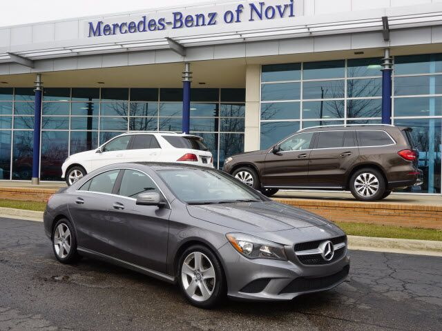 2015 mercedes benz cla cla 250 4matic novi mi 17506351 for Mercedes benz novi michigan
