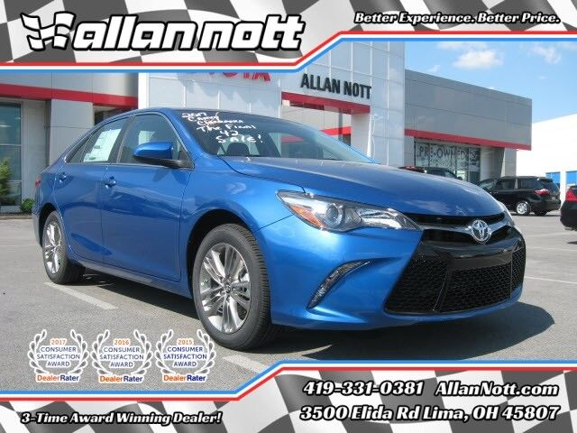 2017 toyota camry se lima oh 18928515. Black Bedroom Furniture Sets. Home Design Ideas