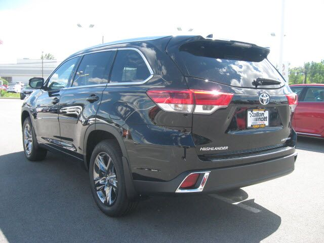 2017 toyota highlander awd limited platinum v6 w nav lima oh 19369077. Black Bedroom Furniture Sets. Home Design Ideas