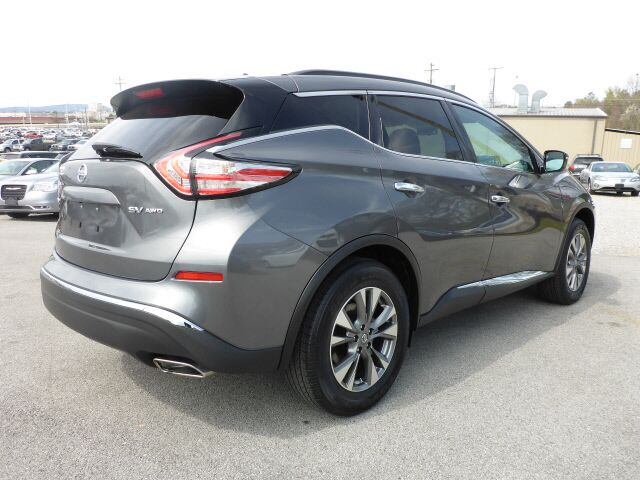 2016 nissan murano sv awd chattanooga tn 17731572. Black Bedroom Furniture Sets. Home Design Ideas