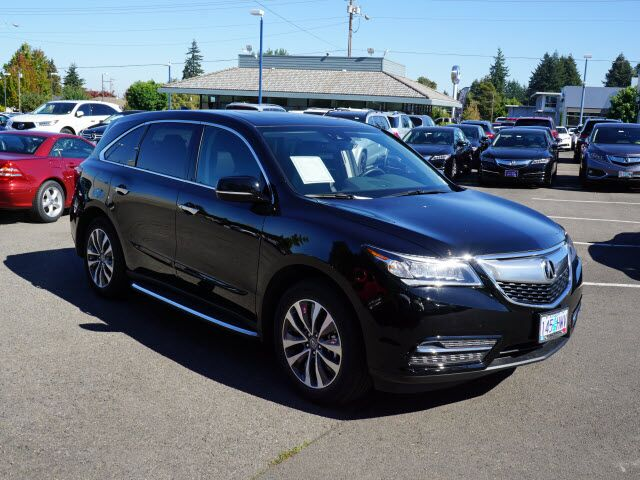 2016 acura mdx sh awd with technology package salem or 15220358. Black Bedroom Furniture Sets. Home Design Ideas
