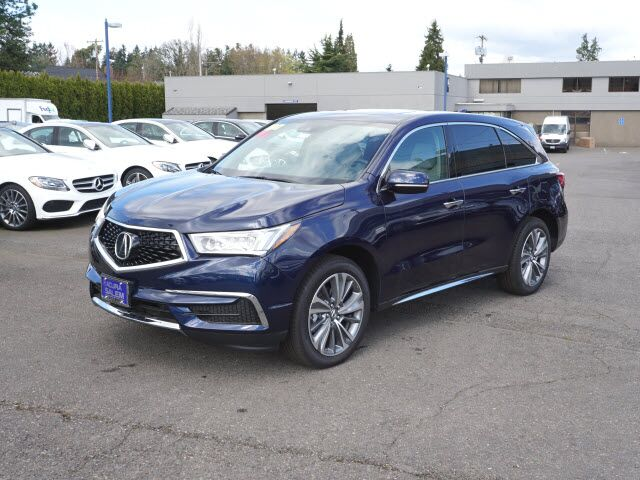 2017 Acura MDX SH-AWD with Technology Package Salem OR 17834957