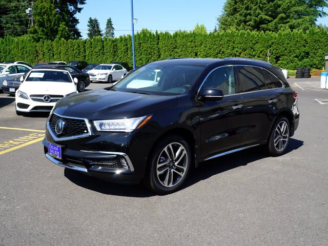 2017 acura mdx sh awd with advance package salem or 17021194. Black Bedroom Furniture Sets. Home Design Ideas