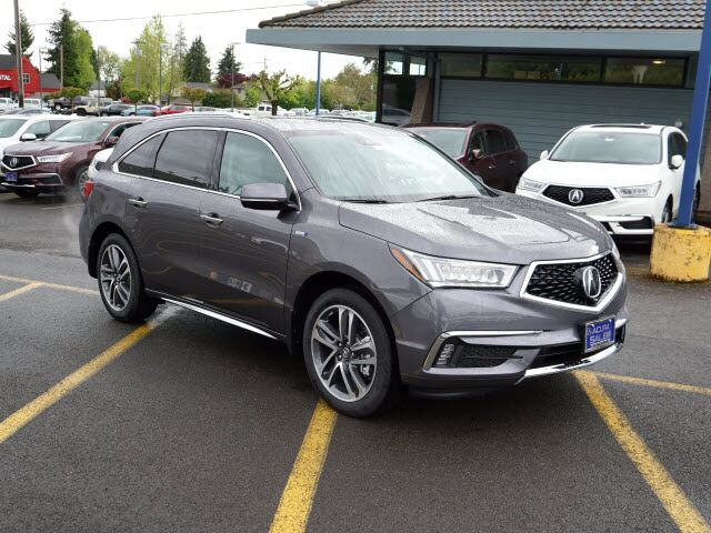 2017 acura mdx sport hybrid sh awd with advance package salem or 18445455. Black Bedroom Furniture Sets. Home Design Ideas