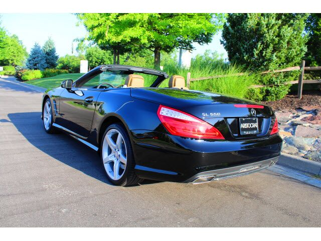 2016 mercedes benz sl class sl550 merriam ks 12773883 for Mercedes benz of kansas city aristocrat