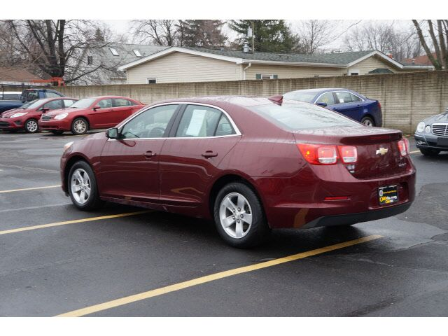 2016 Chevrolet Malibu Limited Lt Garden City Mi 16583050
