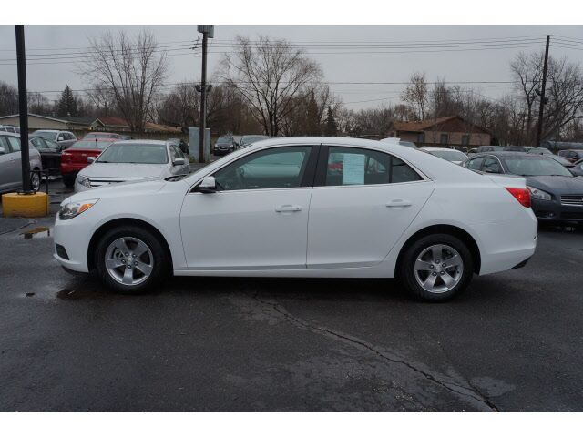 2016 Chevrolet Malibu Limited Lt Garden City Mi 16583285