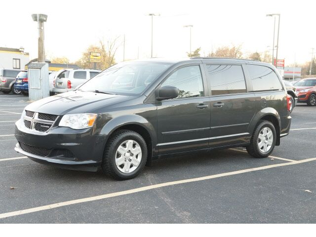 2012 Dodge Grand Caravan American Value Package Garden