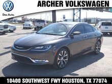2015 Chrysler 200 C Houston TX