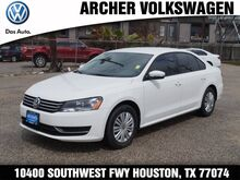 2015 Volkswagen Passat S Houston TX