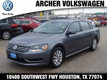 2015 Volkswagen Passat Wolfsburg Edition Houston TX