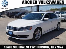 2013 Volkswagen Passat SEL Houston TX
