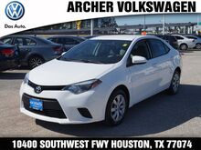 2014 Toyota Corolla LE Houston TX