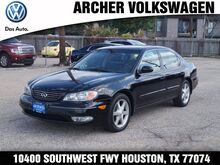 2003 INFINITI I35 Base Houston TX