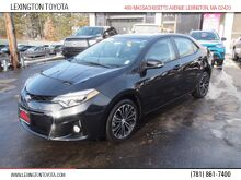 2016 Toyota Corolla S Plus Lexington MA