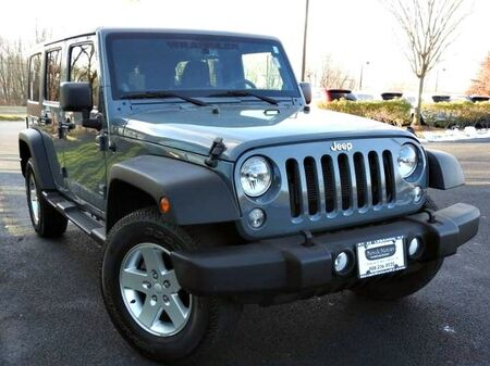 Jeep Wrangler Unlimited Sport 2014