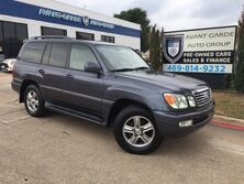 Lexus LX470 NIGHT VISION NAVIGATION, HEATED LEATHER SEATS, SUNROOF!!! LOW MILES, ONE OWNER!!! EXTRA CLEAN!!! 2006