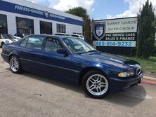 BMW 740iL SPORT PACKAGE NAVIGATION, MASSAGING LEATHER SEATS, COLD WEATHER PACK, PARKING SENSORS, SHADES!!! ONE OWNER!!! 2001