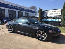 BMW M6 CONVERTIBLE NAVIGATION, HEADS UP DISPLAY, CUSTOM EXHAUST!!! CLEAN!!!! LOW MILES!!! 2007