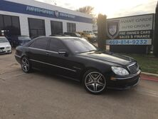 Mercedes-Benz S55 AMG NAVIGATION, KEYLESS GO, ACTIVE SEATS!!! SUPER RARE AND LOADED!! SUPER CLEAN!!! 2005