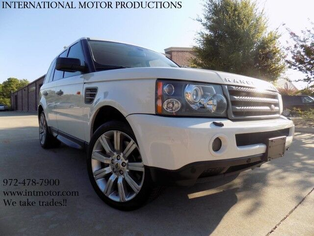 2008 Land Rover Range Rover Sport **Super Charged** Carrollton TX