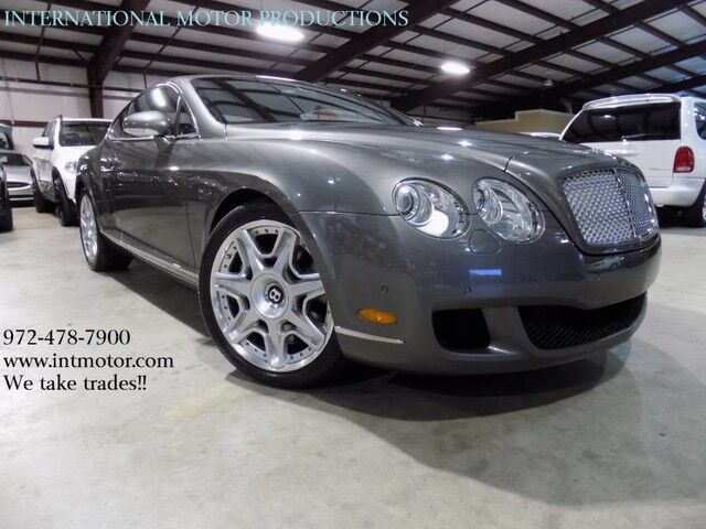 2009 Bentley Continental GT AWD Mulliner Driving Specifications Carrollton TX