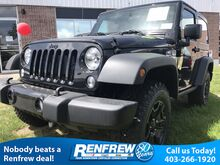 2017 Jeep Wrangler 4WD 2dr Willys Wheeler Calgary AB
