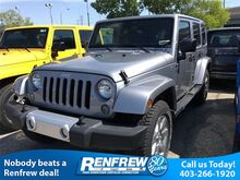 2015 Jeep Wrangler Unlimited 4WD 4dr Sahara Calgary AB