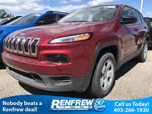 2017 Jeep Cherokee 4WD 4dr Sport Calgary AB