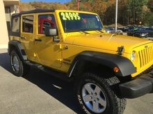 2011 Jeep Wrangler Unlimited Sport 4x4 4dr SUV Hooksett NH