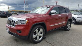 Jeep Grand Cherokee Overland 4x4 4dr SUV 2011