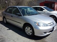 2005 Honda Civic Sdn Value Package 4dr Sedan Hooksett NH