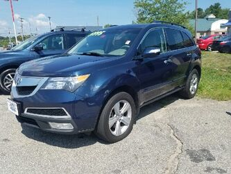 Acura MDX SH-AWD w/Tech 4dr SUV w/Technology Package 2010