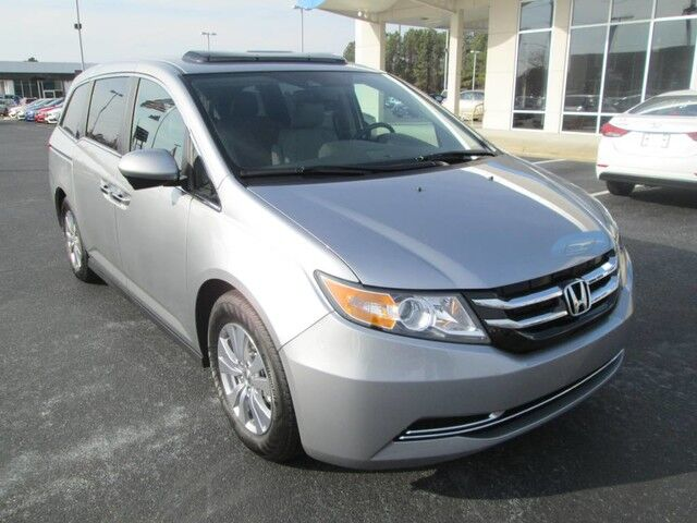 2017 honda odyssey ex l auto rocky mount nc 16891446. Black Bedroom Furniture Sets. Home Design Ideas