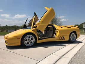 Lamborghini DIABLO VT ROADSTER VT ROADSTER 1997