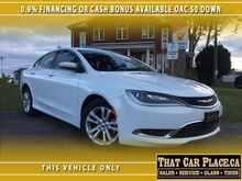 2016 Chrysler 200 Limited-0.9%Financing or $1800 CASHBACK-$0 DOWN London ON