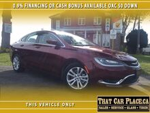 2016 Chrysler 200 Limited-0.9%Financing or $1800 CASHBACK-$0DOWN- London ON